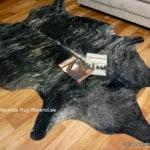 Cow Hide Rugs Natural Exotic Dark Brown Cow Skin Rugs Animal Skin Rugs