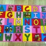 Alphabet Rugs Activity Play Mats