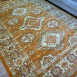 Stain Resistant Persian Gabeh Transitional Aged Design Gold Cream Floor Area Rugs
