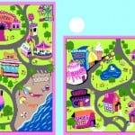 Pink City Play Mat